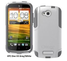 OtterBox Commuter for HTC ONE VX Glacier White Gray Case Cover OEM New Genuine