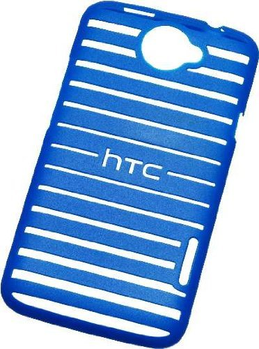 AT&T HTC ONE X Patterned Shell Case - Blue