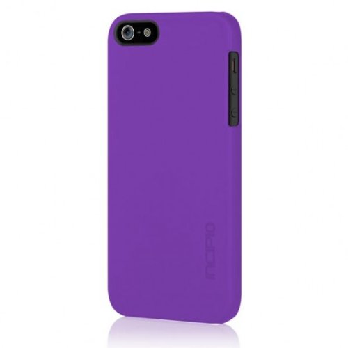 Incipio iPhone 5s Ultra thin Case, [Feather] Snap-On Shockproof Slim Case fits iPhone 5, iPhone 5s, and iPhone SE - Retail Packaging - Purple
