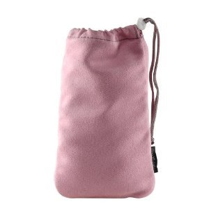 Universal Pink Clean Screen Pouch for iPhone, HTC, Blackberry