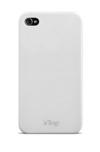 iFrogz IP4UL-WHT UltraLean Case for iPhone 4 & 4S - Retail Packaging - White