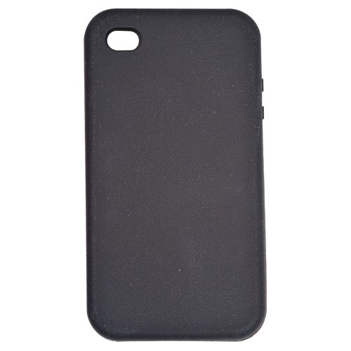 Rocketfish Mobile - Case for Apple iPhone 4 - Black RF-WR1001