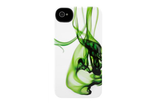 Incase CL69001 Vapor Snap Case for iPhone 4S and iPhone 4 - Green Vapor