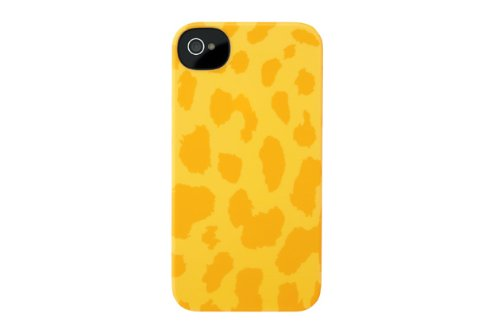 Incase CL59966 Animal Snap Case for iPhone 4 and iPhone 4S, Yellow Cheetah