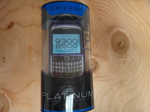 Platinum Series Case for BlackBerry Curve 9300, 8500 Mobile Phones - Purple