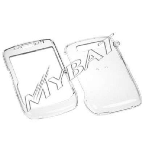 Clear Snap-On Cover Hard Case Cell Phone Protector for Blackberry Curve 8900 Javelin