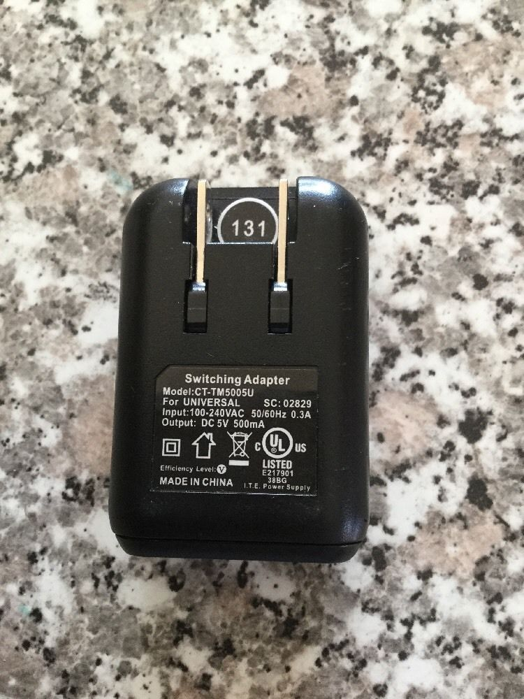 T-Mobile USB TRAVEL HOME WALL SWITCHING Adapter