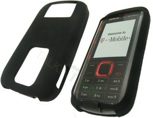 NOKIA 5130 BLACK SOFT GEL NO-SLIP GRIP SKIN
