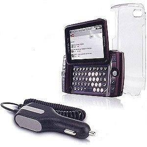 OEM T-Mobile Sidekick LX (2009) 3-Pack (Clear Cover, Screen Protector & Car Charger)