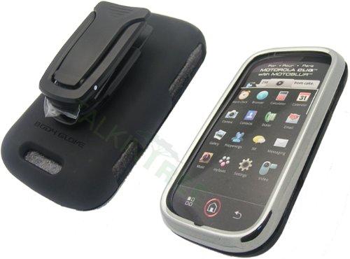 Body Glove Motorola Cliq MB200 Flex Chrome with Kickstand Clip