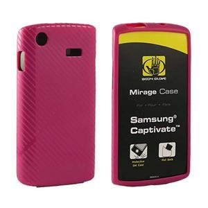 At&T Body Glove Mirage Pink Tpu Skin Case For Samsung Captivate I897