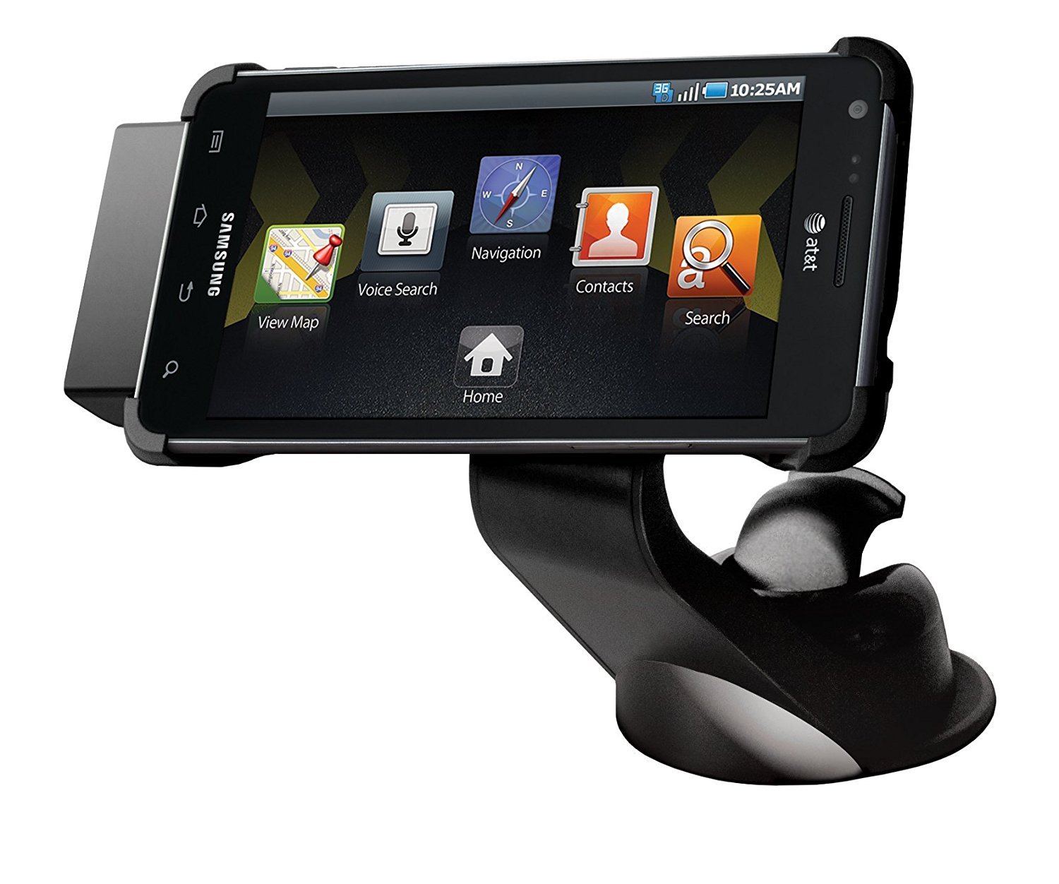 Samsung AT&T INFUSE 4G SGH-i997 Vehicle Mount (ECS-V1B7BEGSTA) - Retail Packaging - Black