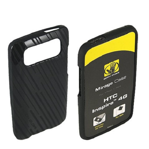 Body Glove Mirage Skin Cover for HTC Inspire 4G, Etched Black