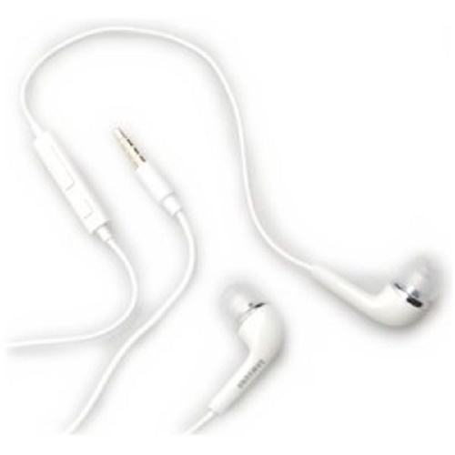 New OEM Samsung EHS64 White Stereo Headset White Universal 3.5mm Jack Hand's Free Galaxy Note i717
