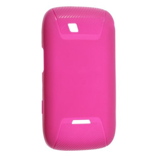 T-mobile Sidekick 4G T839 Impact Protection D30 Gel Skin Case - Hot Pink