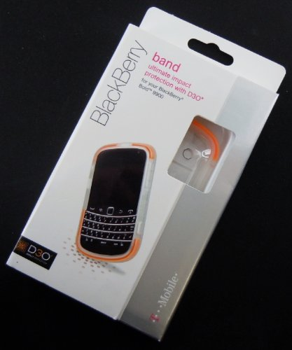 D3O Ultimate Impact Protection Band for Blackberry Bold 9900 - Clear