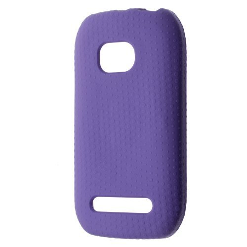 T-Mobile Tech21 Gel Skin For NOKIA LUMIA 710 Ultimate Protection D3O Case - Purple