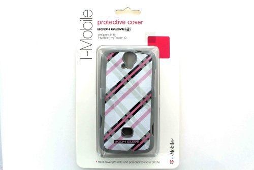 Body Glove U8730 MyTouch Q Buddy Huawei T-Mobile shell Lines OEM BodyGlove ONLY Tmobile-Gray with Pink and Black
