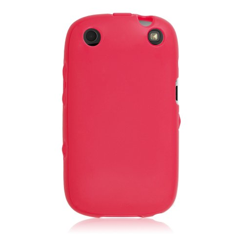 T-Mobile Flex Protective Gel Skin Case Cover for BlackBerry Curve 9310 / 9315 / 9320 - Hot Pink w/ Glossy Finish