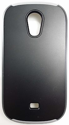 T-Mobile Ridge Protective Cover For Samsung Galaxy Light (Black/Gray)