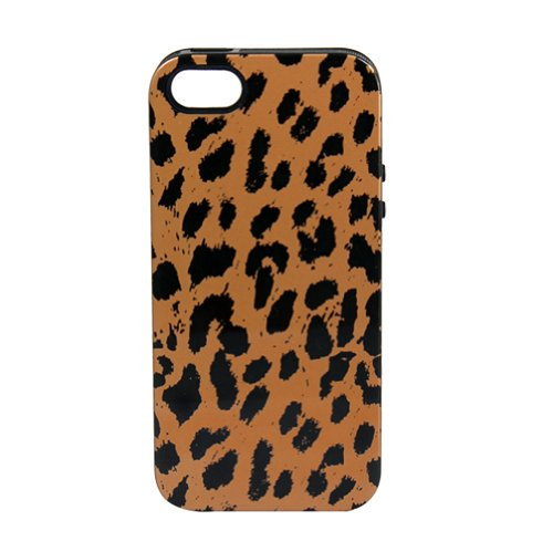 Sonix Inlay Print Hybrid Case for iPhone 5 & 5s  - Retail Packaging - Cheetah