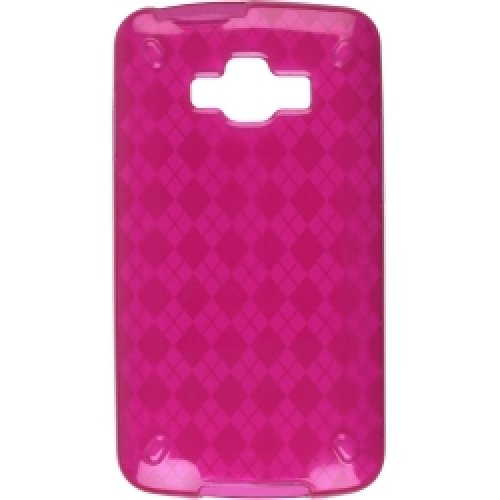 Samsung Rugby Smart i847 Argyle Pink Skin