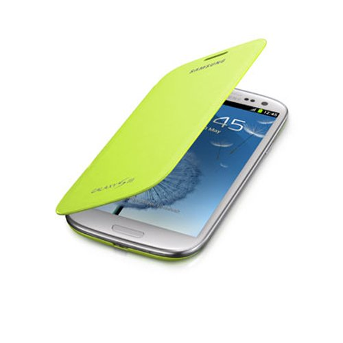 Samsung Galaxy S III Flip Cover - 1 Pack - Carrying Case (Green)