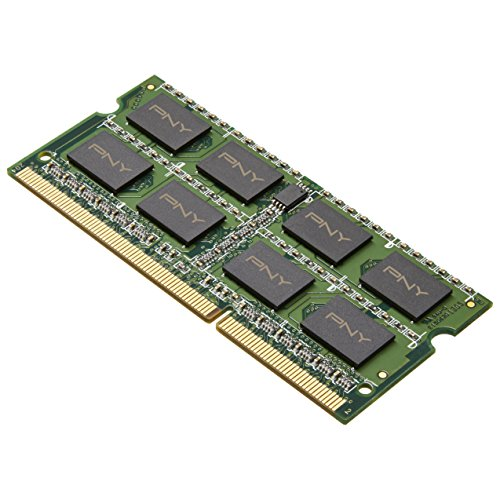 PNY 8GB DDR3 1600MHz (PC3 12800) 204-Pin CAS CL11 Notebook Memory Module - MN8192SD3-1600