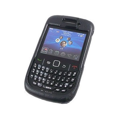 Body Glove Bond Snap-On Case Coin Slot BlackBerry Curve 8500 Black