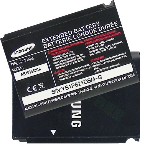 SamSUNG OEM AB103450CA EXTENDED BATTERY FOR i907