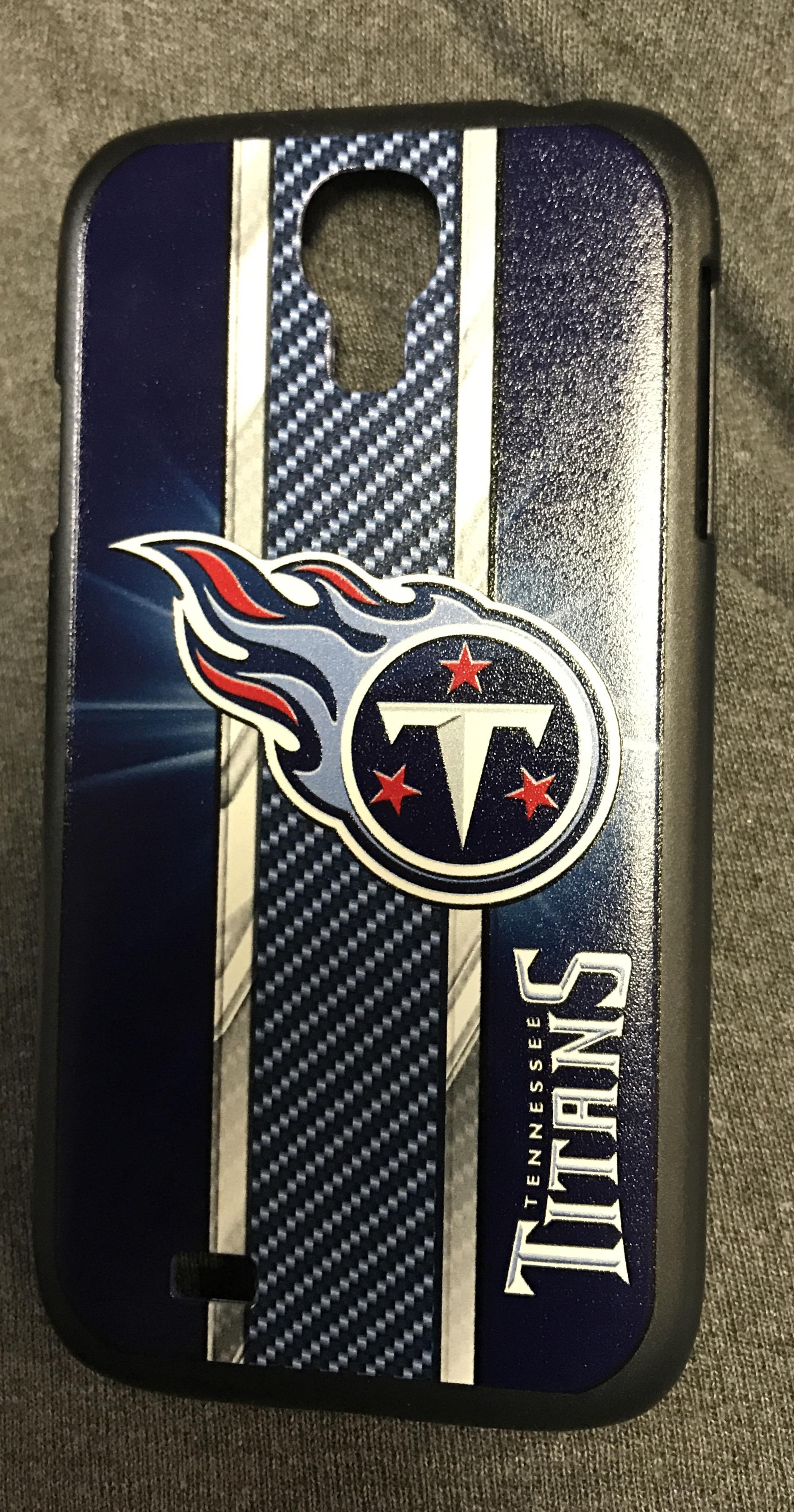 NFL Tennessee Titans Samsung Galaxy S4 Black