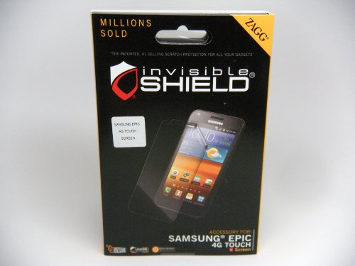 Zagg SAMEPI4GTOUS Screen Protector for Samsung Galaxy S II and Epic 4G - 1 Pack - Retail Packaging - Clear