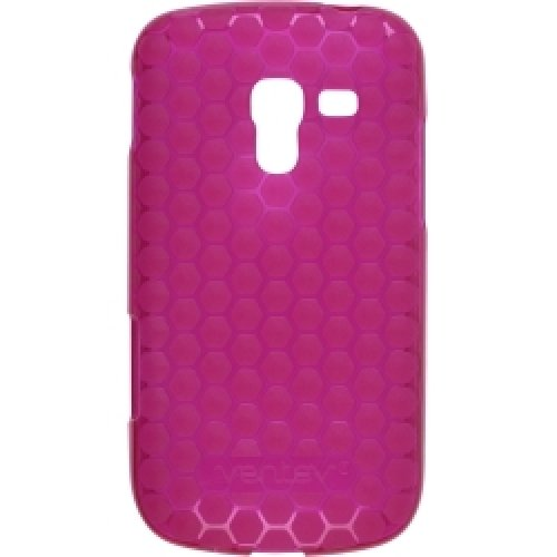 Samsung Exhilarate Ventev TPU Gel Honecomb Pink