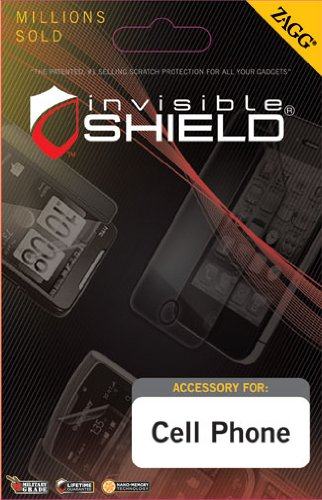 InvisibleShield for Motorola Atrix 2 (Screen) - Skin - Retail Packaging - Clear