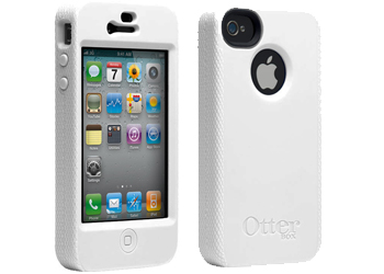 OtterBox for Apple iPhone 4 Impact Case Cover, White