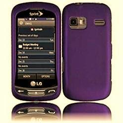 Ventev Textser Protective Case LG Xpression/LG Rumor Flex/LG Freedom Purple