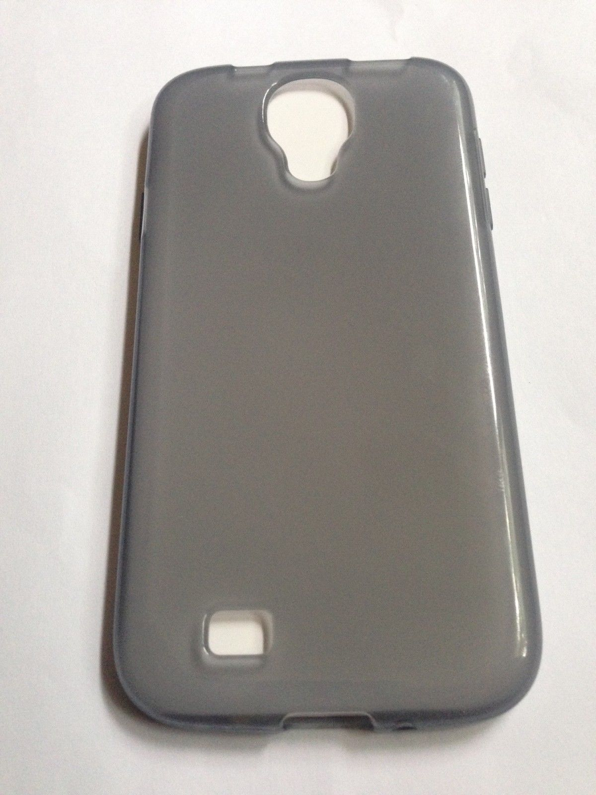 Cricket Clear Gray TPU Case Cover For Samsung Galaxy S4