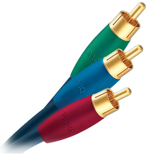 AudioQuest class G component video cable - RCA plugs 2m (6.56') 3-cable set