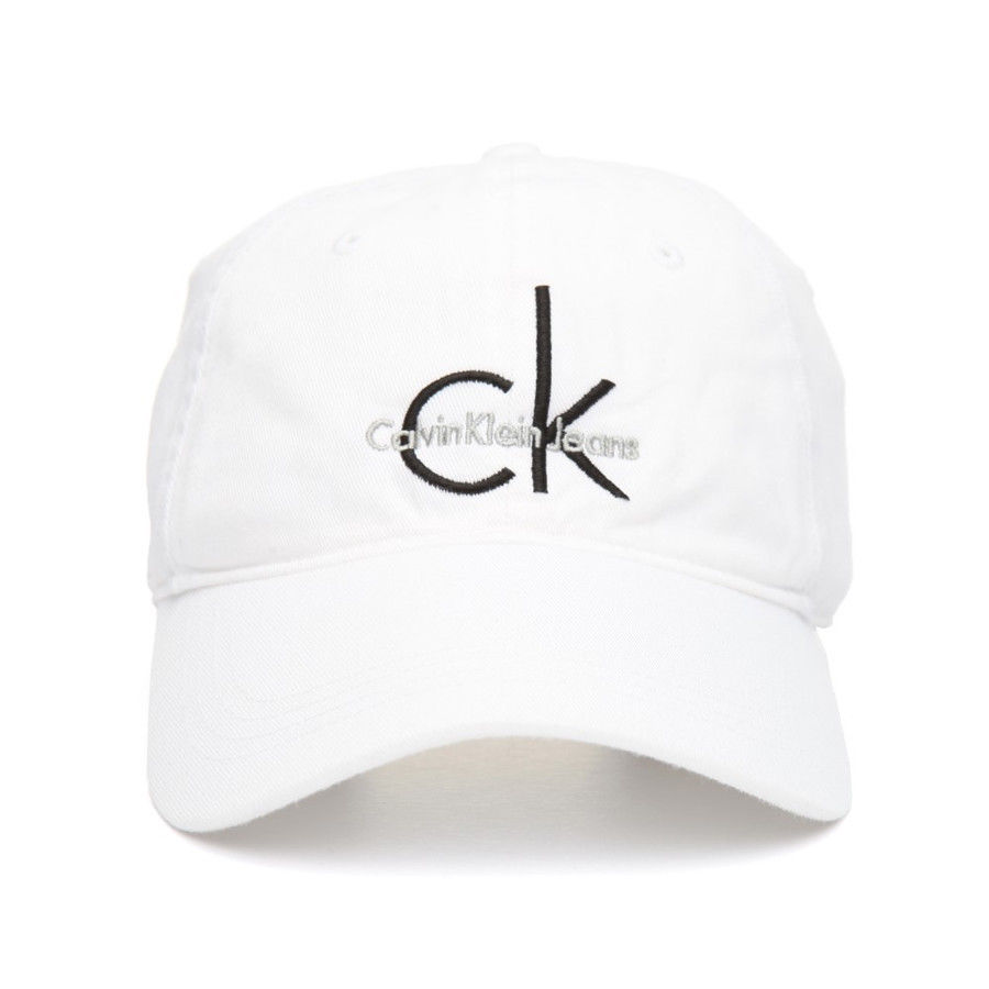 3e6bd8670fa Calvin Klein CK Men s Adjustable Embroidered Logo Baseball Dad Hat ...