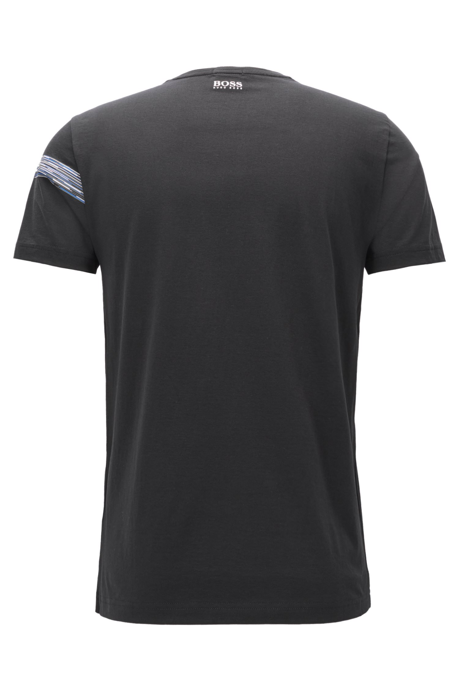 Hugo Boss Green Men/'s Graphic Premium Cotton Shirt T-shirt TEEP 1 50372545