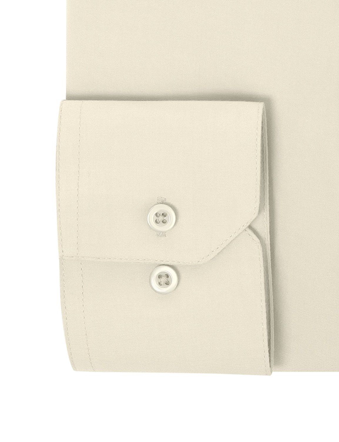 Berlioni Italy Men/'s Premium Classic French Convertible Cuff Solid Dress Shirt