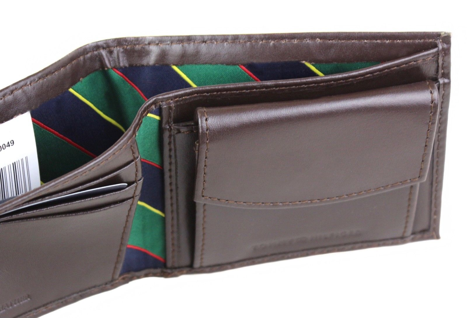 Tommy Hilfiger Men/'s Leather Credit Card Id Billfold Coin Rfid Wallet 31Tl130049