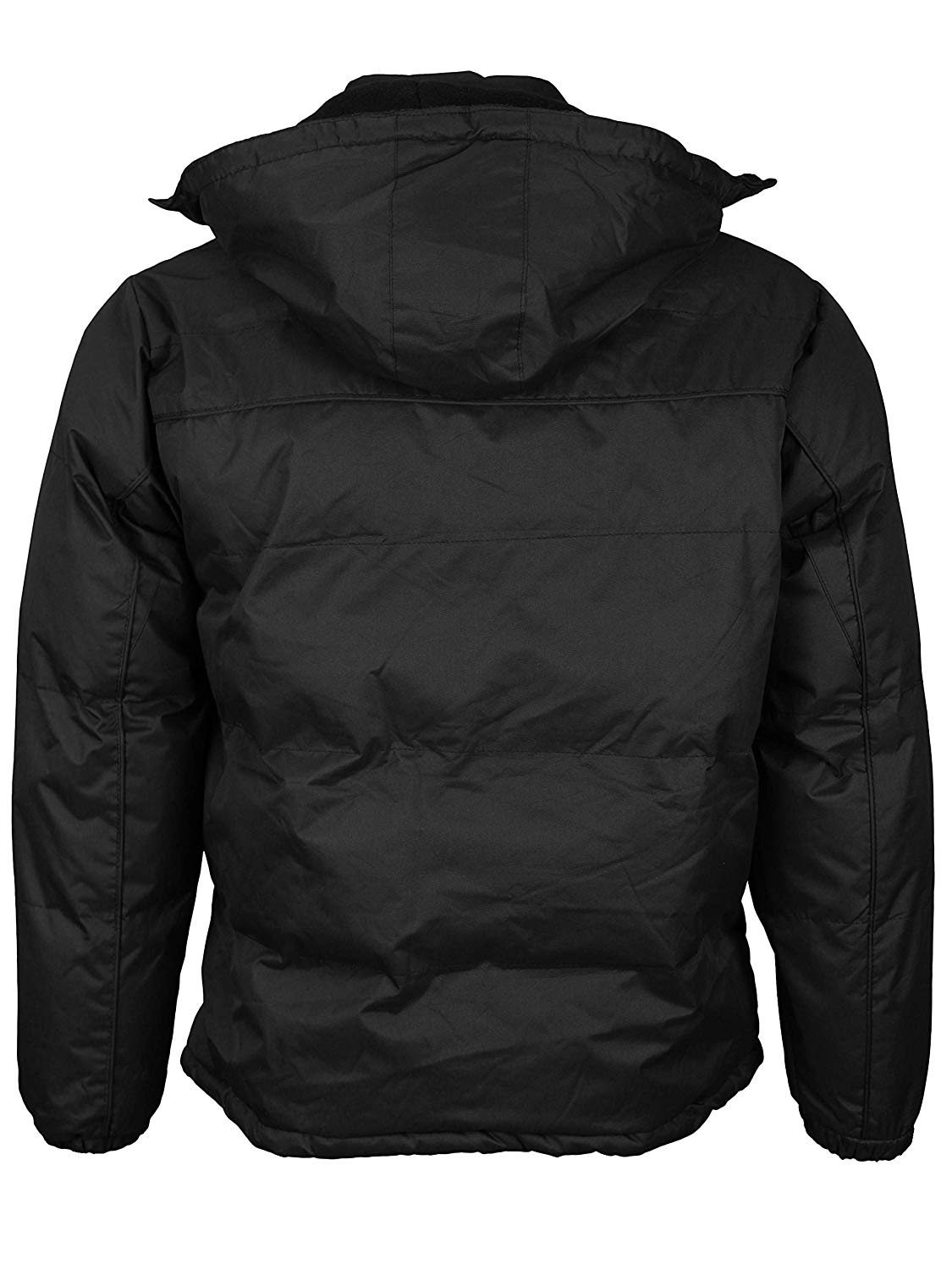 Men/'s Heavyweight Insulated Lined Jacket with Removable Hood BIGBEAR