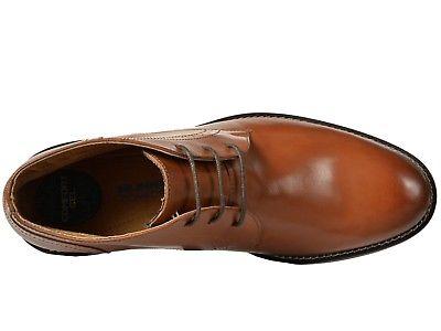 Nunn Bush 84728 221 Savage Cognac Brown Leather Men/'s Chukka Boots