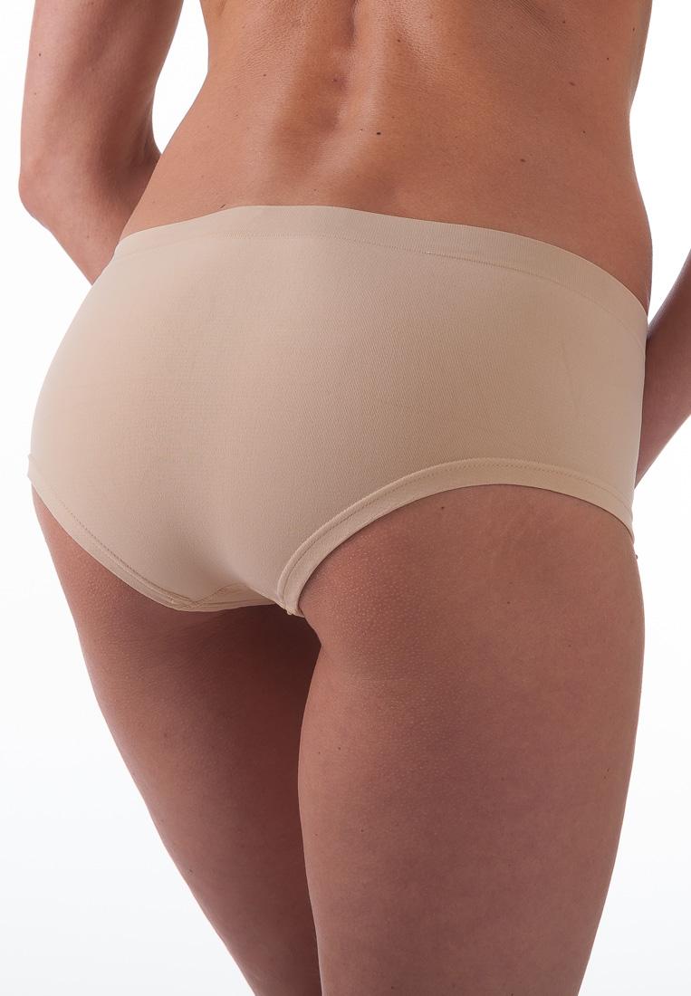 Bellissima Women's Hipster Panty Sport Stretch Seamless Everyday Underwear
