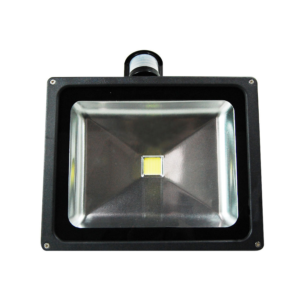 10W 20W 30W 50W LED PIR Motion Sensor Flood Light Spotlight Day White Outdoor