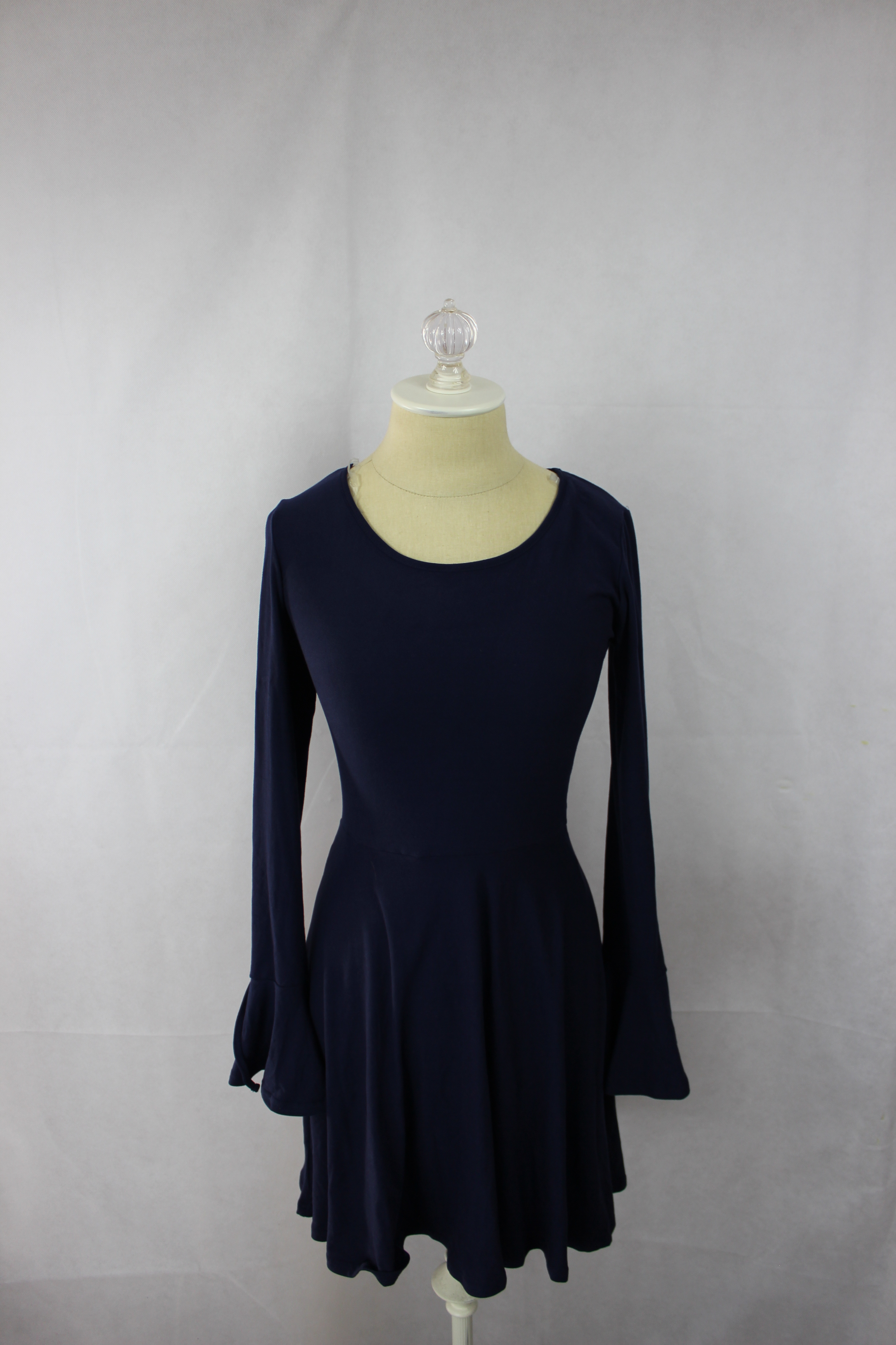 Planet Gold Juniors/' Bell-Sleeve Fit /& Flare Dress