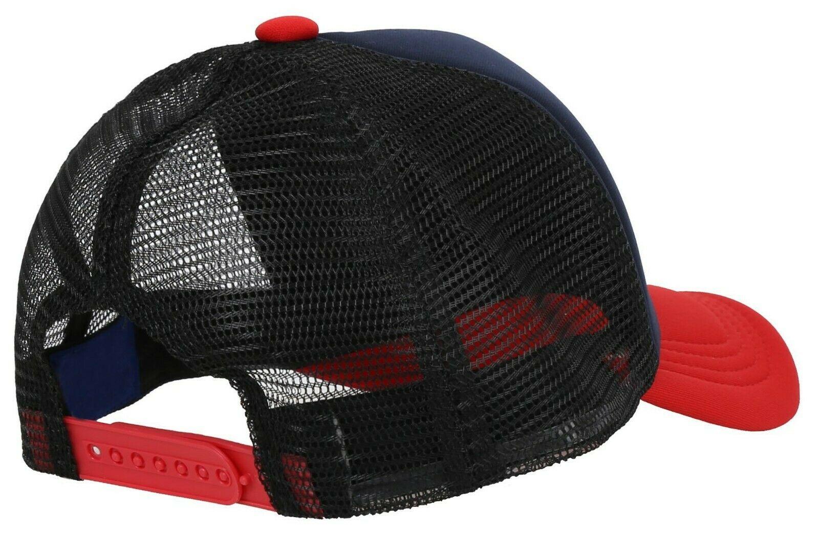 Summer Trucker Color Two Tone Casual Baseball Mesh Cap Foam Hat