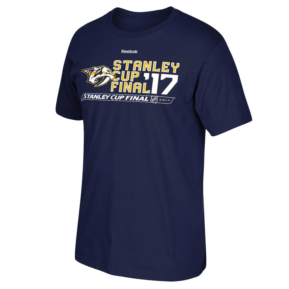 Nashville Predators 2017 Stanley Cup Final Type Across T