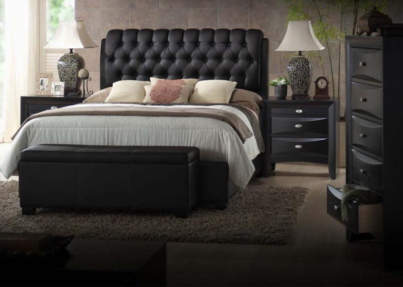 Acme Eastern King Bedroom Set - Bedding Queen